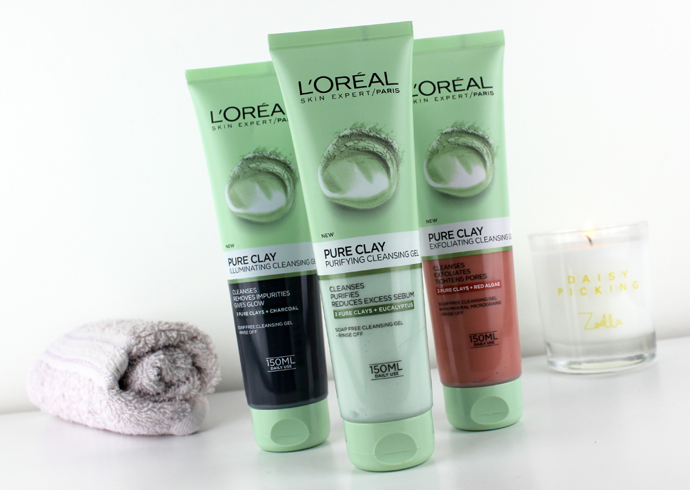 Loreal Pure Clay Cleansing Gel
