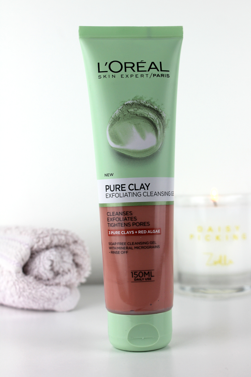 Loreal Pure Clay Exfoliating Cleansing Gel