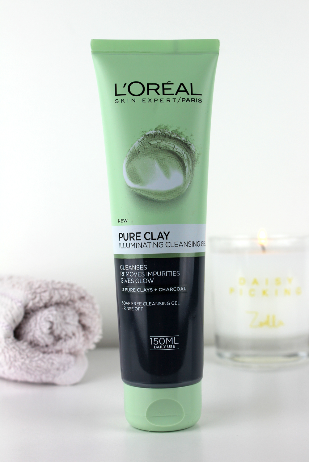 Loreal Pure Clay Illuminating Cleansing Gel