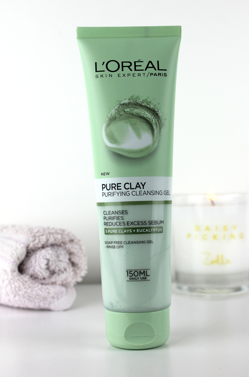 Loreal Pure Clay Purifying Cleansing Gel