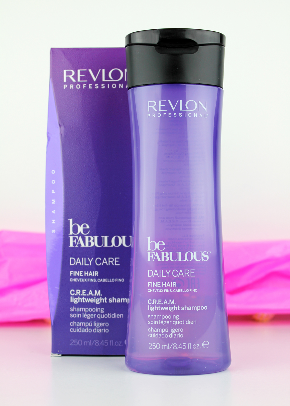 Revlon be fabulous Daily Care Fine Hair Lightweight Shampoo