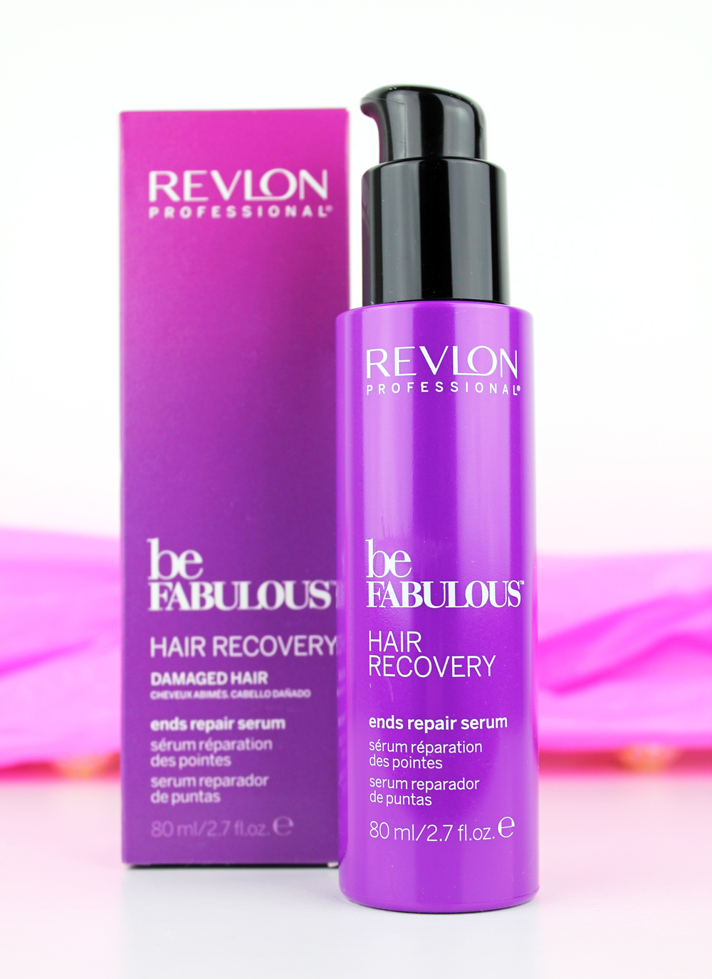 Revlon be fabulous Hair Recovery Ends Repair Serum