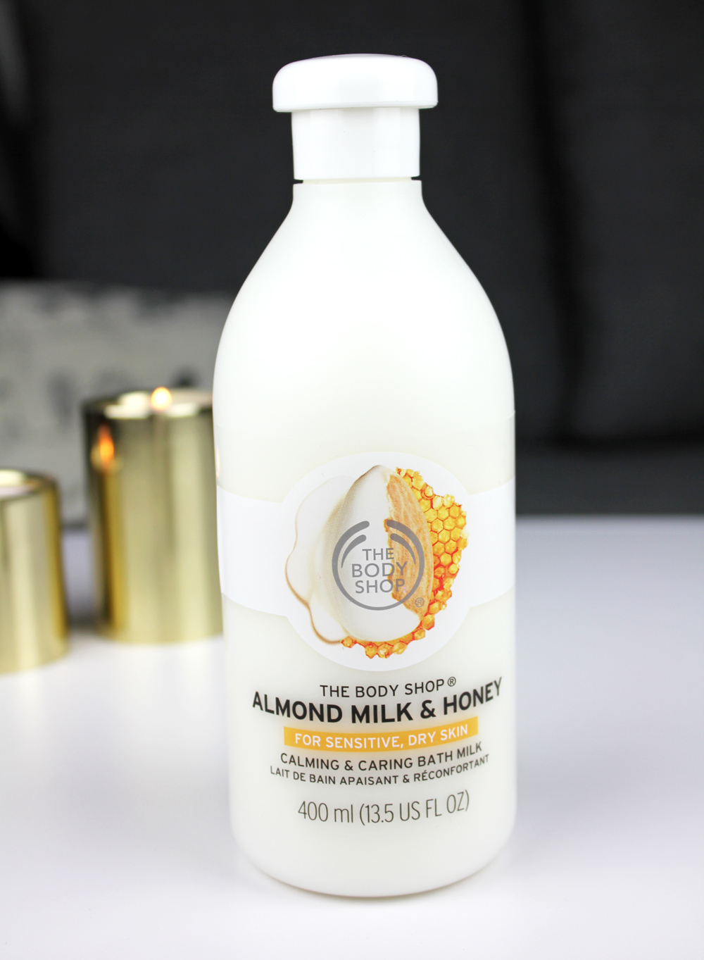 The Body Shop Almond Milk & Honey Soothing & Caring Bath Milk