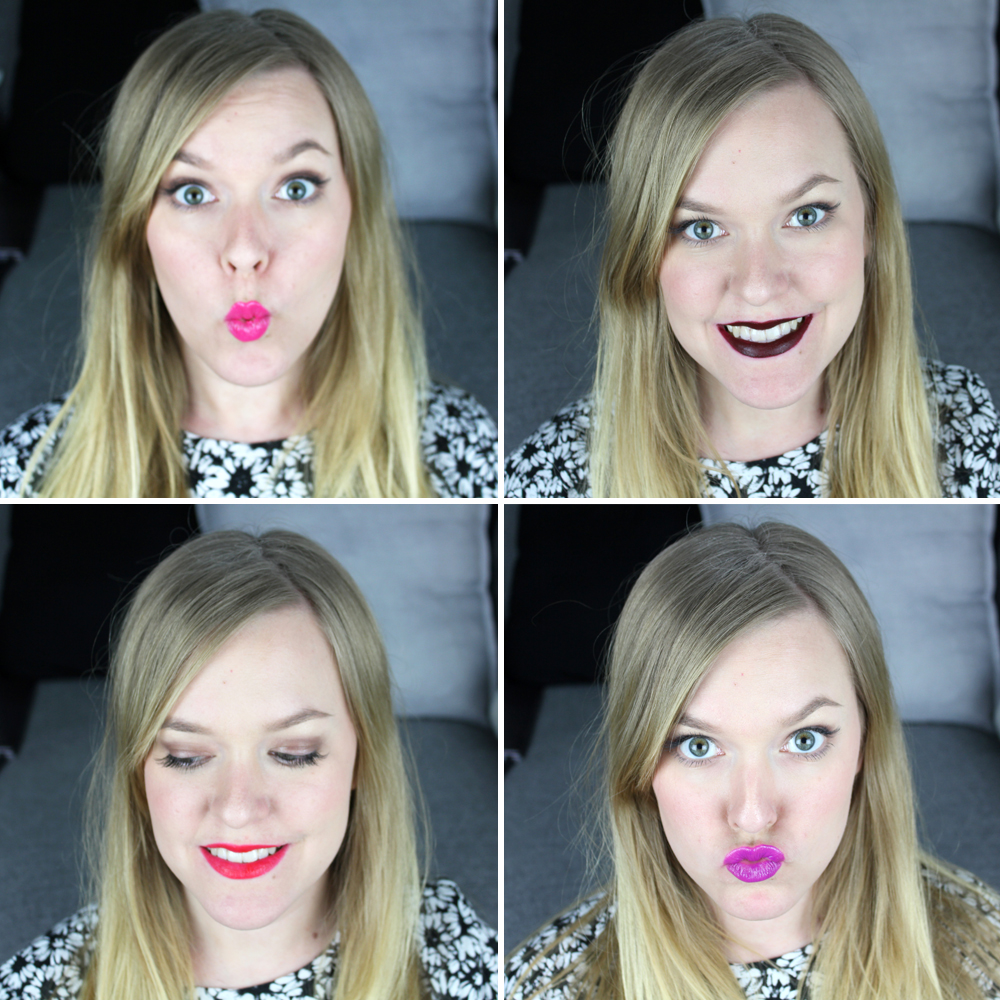 Bold Lips Makeup Look