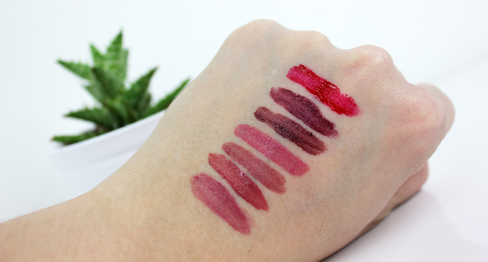 IsaDora Ultra Matt Liquid Lipstick Swatches