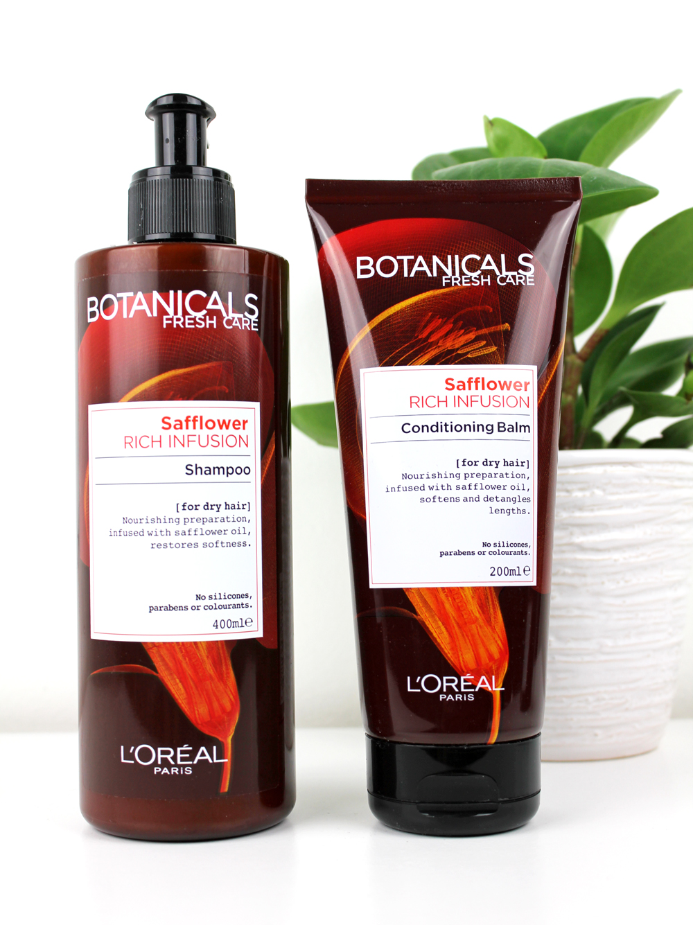 L´Oreal Botanicals Rich Infusion Shampoo and Conditioner