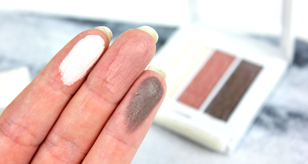 Make Up Store Microshadow Trio Pearl Swatches
