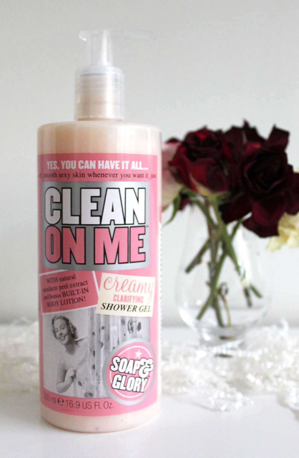 Soap & Glory Clean On Me Creamy Shower Gel