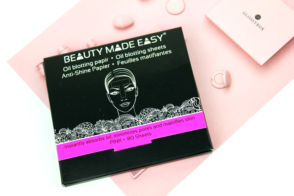 Beauty Made Easy Pink Oil Blotting Papers 2