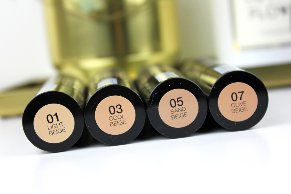Cover Up Stick N Brush Foundation and Concealer Colors
