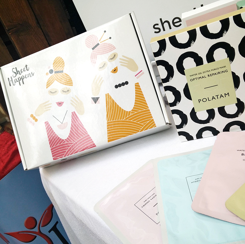Sheet Happens Sheet Mask Box