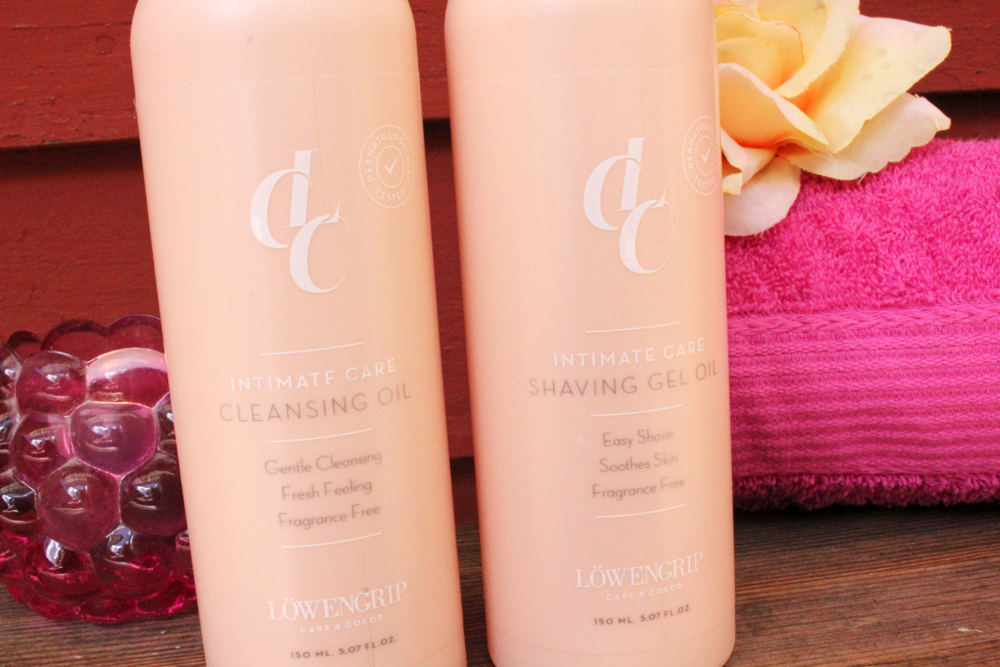 LCC Cleansing Oil and Shaving Gel Oil