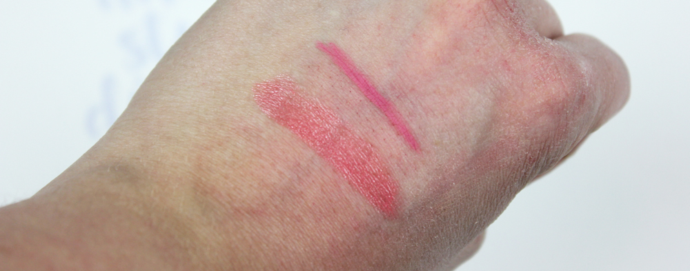 Lumene Nordic Chic Lips Swatches