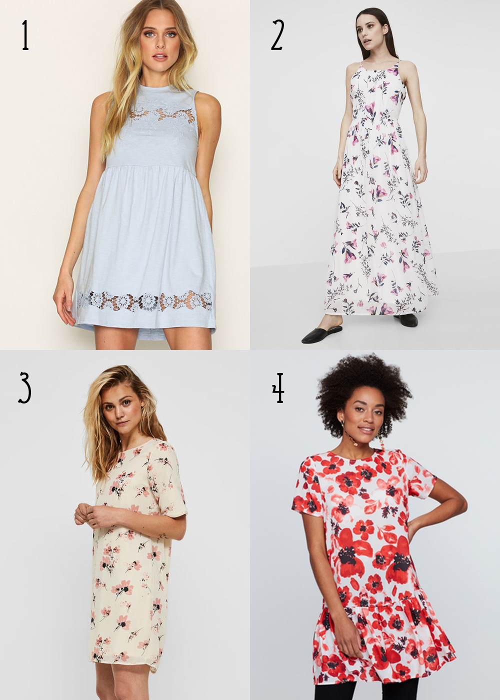 Midsummer dresses