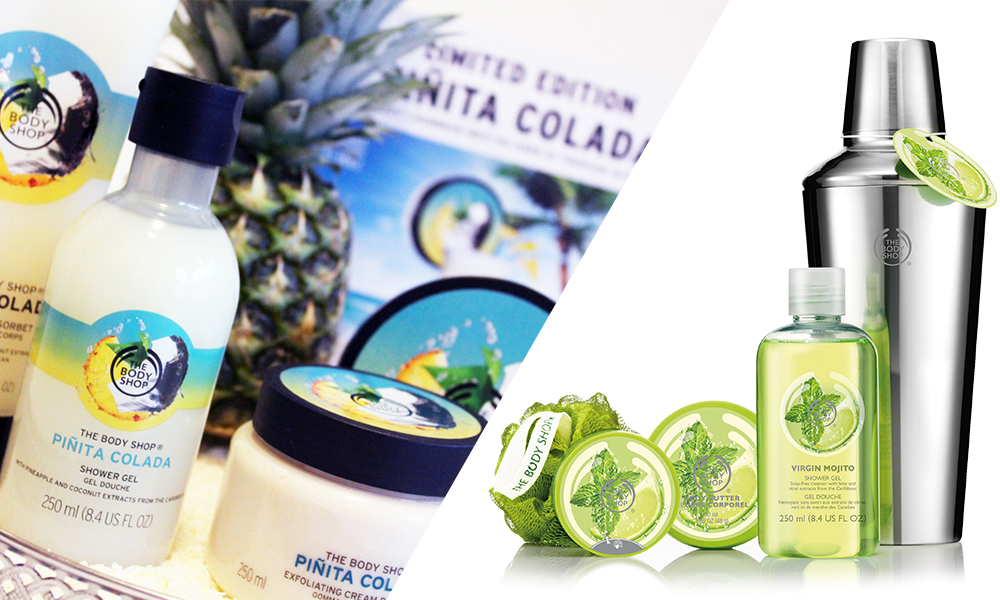 The Body Shop Pinita Colada and Virgin Mojito