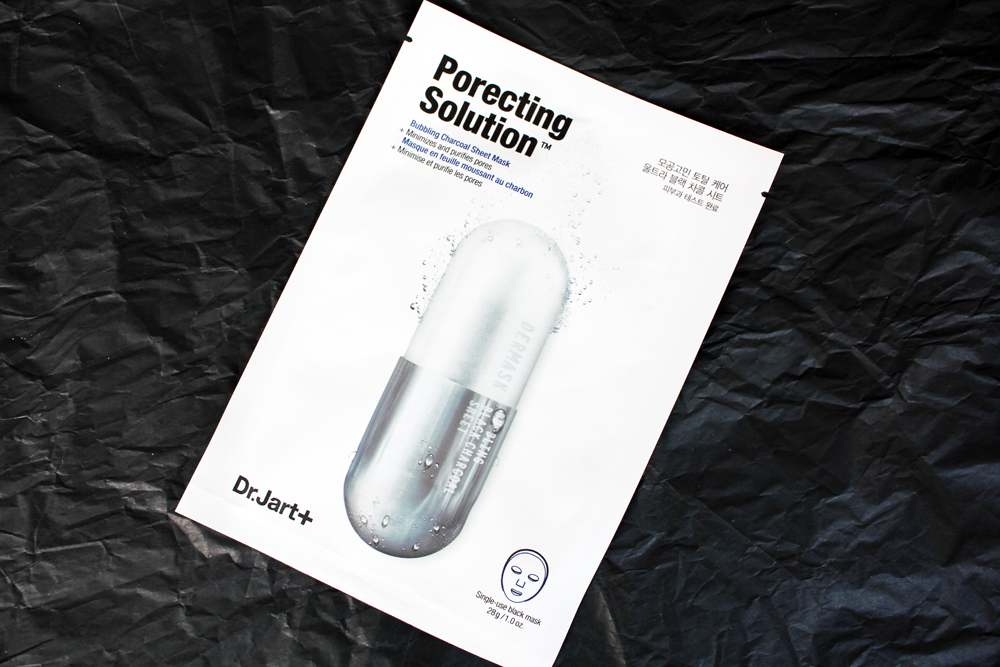 Dr. Jart+ Porecting Solution Bubbling Charcoal Sheet Mask