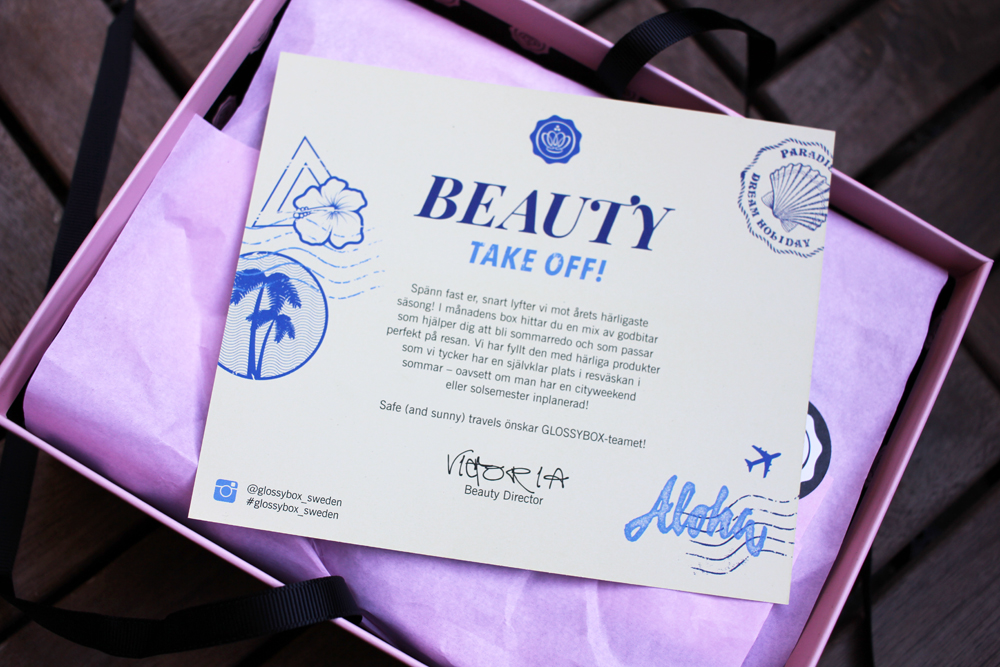 Glossybox Beauty Takeoff