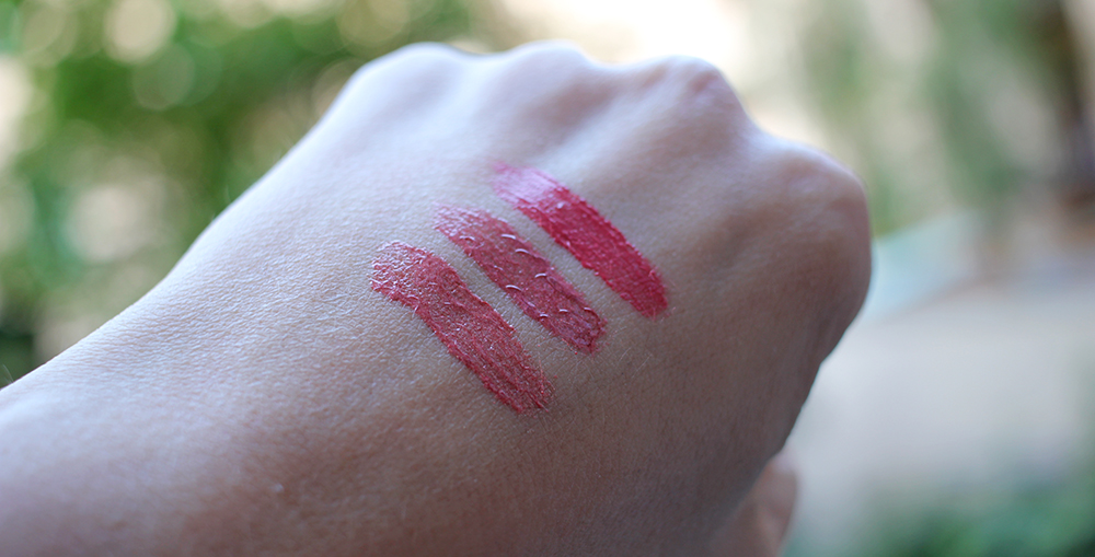 Maria Åkerberg Lip Gloss Swatches
