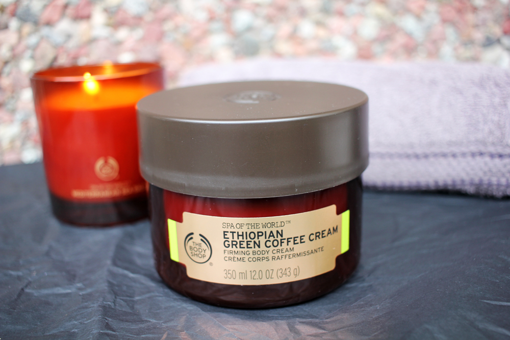 The Body Shop Ethiopian Green Coffee Cream