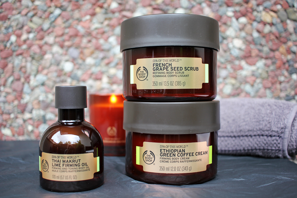 the body shops spa of the world firming ritual beyond beauty