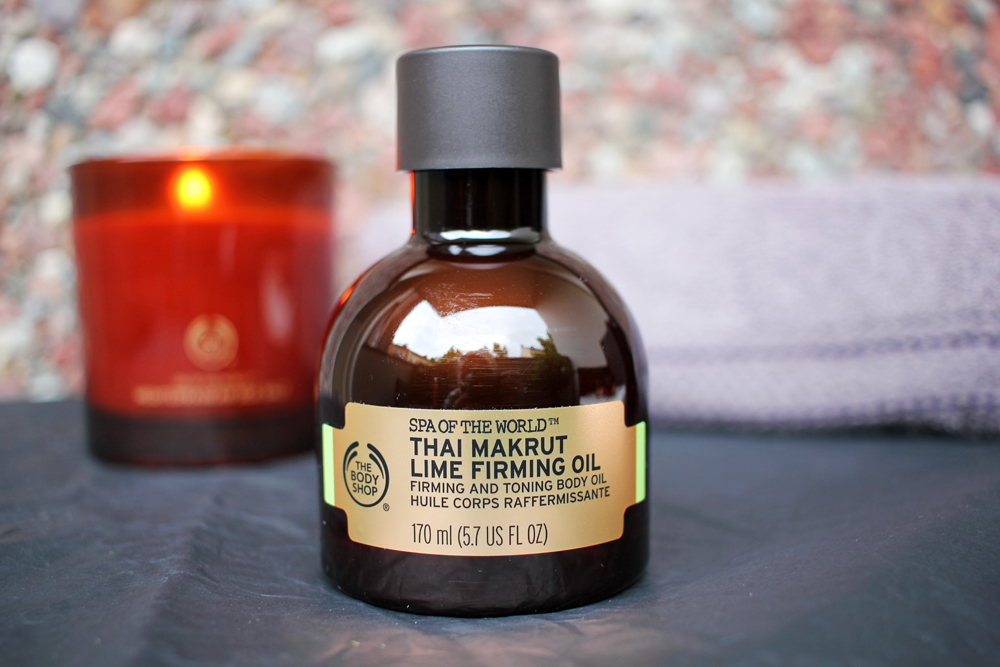 The Body Shop Thai Makrut Lime Firming Oil