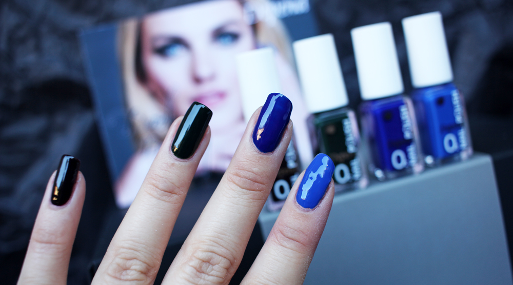 Depend Dark Beauty Blue swatches