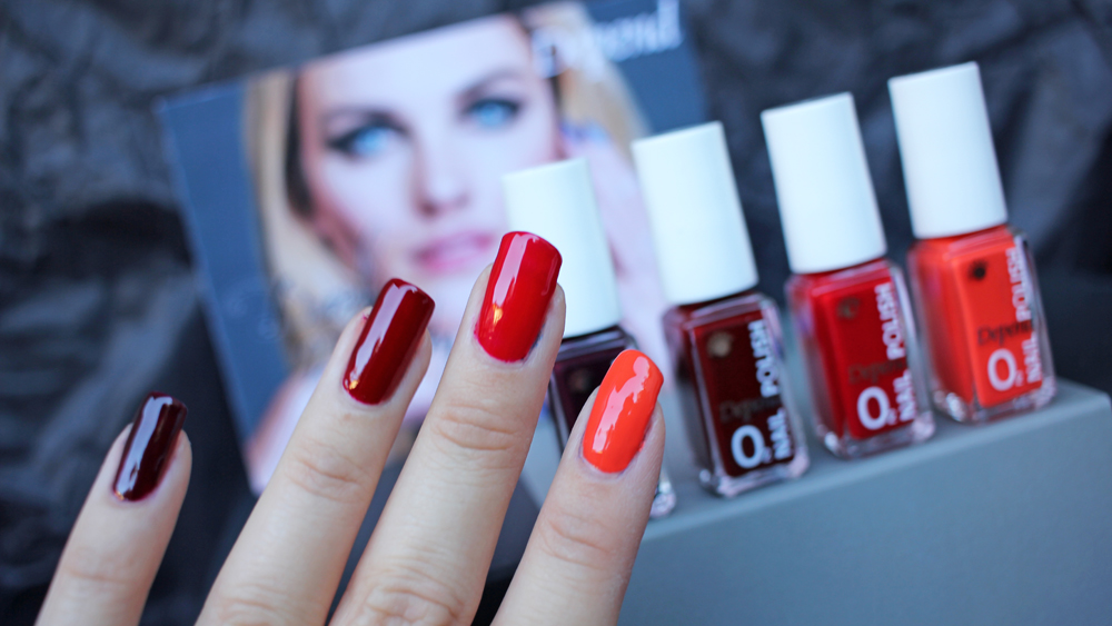 Depend Dark Beauty Red swatches